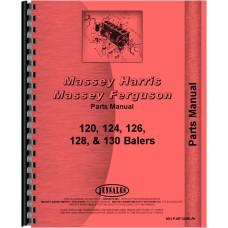 Massey Ferguson 120 Baler Parts Manual