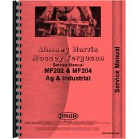 Massey Ferguson 204 Tractor Service Manual