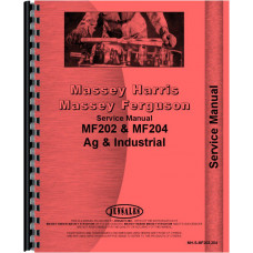 Massey Ferguson 202 Tractor Service Manual (1958-1967)