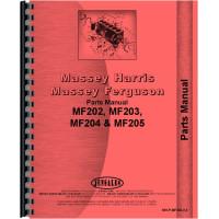 Massey Ferguson 204 Tractor Parts Manual
