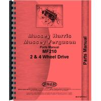 Massey Ferguson 210 Tractor Parts Manual