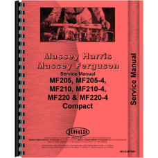 Massey Ferguson 205 Tractor Service Manual