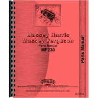 Massey Ferguson 230 Tractor Parts Manual