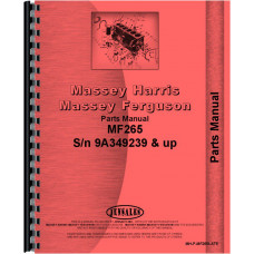 Massey Ferguson 265 Tractor Parts Manual (SN# 9A349239 and Up) (9A349239+)