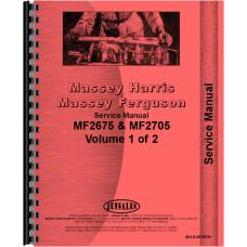 Massey Ferguson 2675 Tractor Service Manual