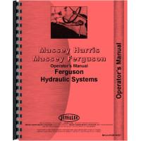 Massey Ferguson 135 Hydraulic System Operators Manual