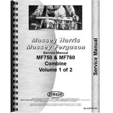 Massey Ferguson Combine Service Manual (MH-S-MF750,760)