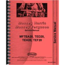 Ferguson TEA20 Tractor Service Manual