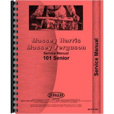 Massey Harris 101 SR Tractor Service Manual