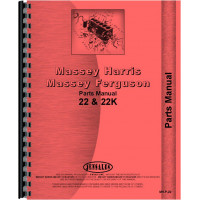 Massey Harris 22 Tractor Parts Manual