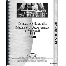 Massey Harris 44 Tractor Service Manual (1948) (6Cyl)
