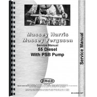 Massey Harris 55 Tractor Service Manual