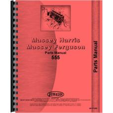 Massey Harris 555 Tractor Parts Manual
