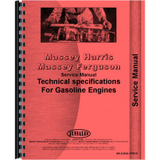 Massey Harris Briggs & Stratton Service Manual (SN# 80902,100202,100902)