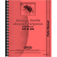 Massey Harris 333 Tractor Parts Manual