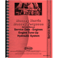 Massey Harris 33 Tune Up Service Manual