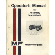 Massey Ferguson 184-4 Tractor Operator's Manual (Four Wheel Drive)