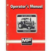 Massey Ferguson 2675 Tractor Operator's Manual