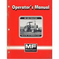 Massey Ferguson 285 Tractor Operator's Manual (NOS)