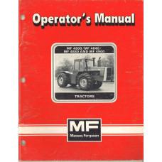 Massey Ferguson 4900 Tractor Operator's Manual (NOS)