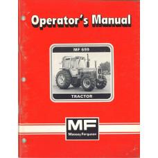 Massey Ferguson 699 Tractor Operator's Manual
