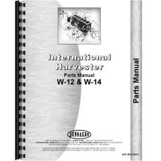 Mccormick Deering Tractor Parts Manual (W12 Tractor | W14 Tractor)