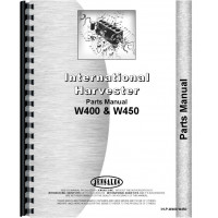 Mccormick Deering W400 Tractor Parts Manual