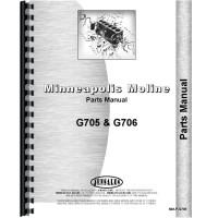Minneapolis Moline G706 Tractor Parts Manual