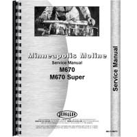 Minneapolis Moline M670 Tractor Service Manual