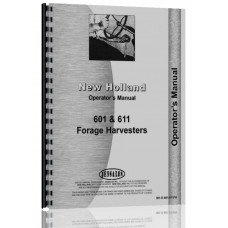 New Holland 611 Forage Harvester Operators Manual