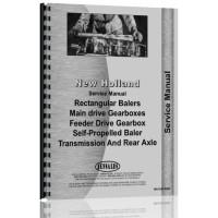 New Holland Baler Gearbox Service Manual