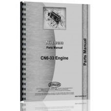 Nissan CN-6-33 Engine Parts Manual