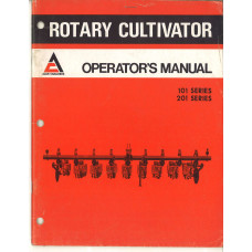 Allis Chalmers 101 Cultivator Operator's Manual (584861)