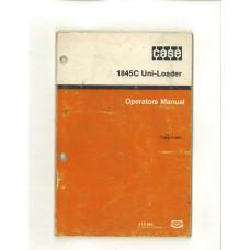 Case 1845C Uniloader Operator's Manual
