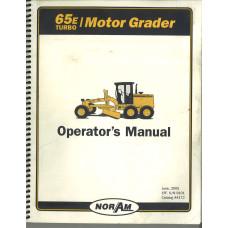 Case 65E Grader Operator's Manual (4472)
