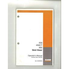 Case 465 Skid Steer Operator's Manual