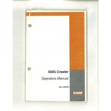 Case 550G Crawler Operator's Manual