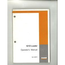 Case 521D Wheel Loader Operator's Manual (6-26371)