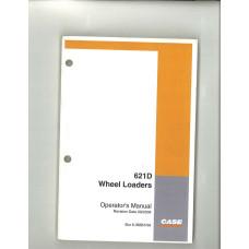 Case 621D Wheel Loader Operator's Manual (6-36661NA)