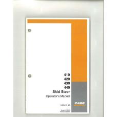 Case 440 Skid Steer Operator's Manual (6-85411NA)