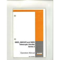 Case 688G Telescopic Handler Operator's Manual (6-8750NA)