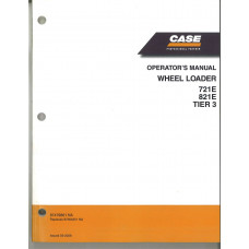 Case 721E Wheel Loader Operator's Manual (87479861NA)