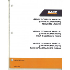 Case 721E Wheel Loader Quick Coupler (Operator's Manual (87493852)