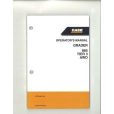 Case 885 Grader Operator's Manual (87729451NA)