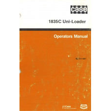 Case 1835C Uniloader Operator's Manual (911021)