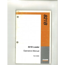 Case 821B Wheel Loader Operator's Manual (9-23935)