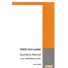 Case 1845C Uniloader Operator's Manual (925063)