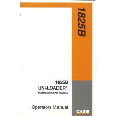 Case 1825B Uniloader Operator's Manual (927650)