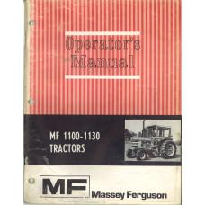 Massey Ferguson 1100 Tractor Operator's Manual (NOS)