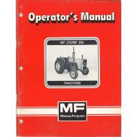 Massey Ferguson 290 Tractor Operator's Manual (NOS)
